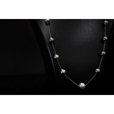 Moveable Tahitian Mix w/South sea Pearl Necklace