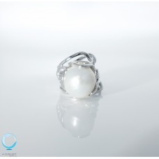 925 Sliver Fresh Water Pearl Ring