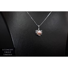 925 Sliver Fresh Water Pearl Pendant