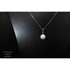 14K GOLD Fresh water pearl pendant
