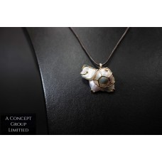 Baroque Freshwater seed pearl 14K Gold Pendant