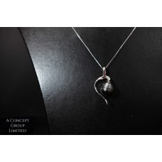 925 Sliver Tahitian Pearl pendant